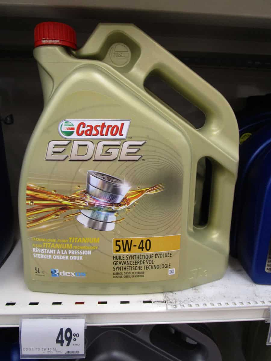 huile vidange castrol