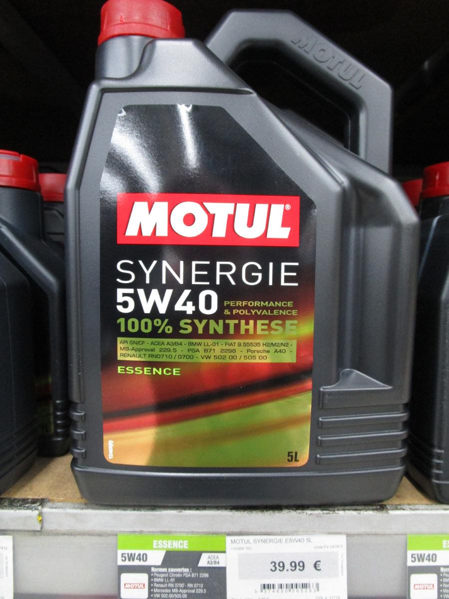 huile de vidange Motul